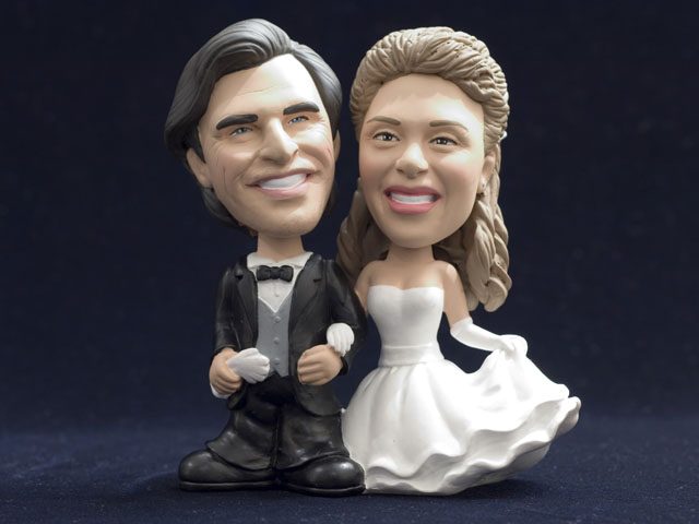 Custom Wedding Cake Topper Bobbleheads I