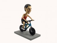 Cyclist Mountain Biker Bobblehead