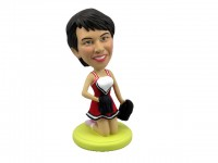 Pep Rally Cheerleader Bobblehead
