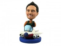 High Flying Pilot Bobblehead