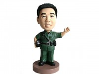 Military Guard Bobblehead