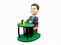 Texas Hold Em' Poker Player Bobblehead