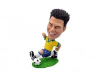 Running Professional Soccer Player in Action Bobblehead