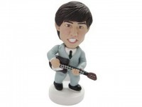 Guitar Hero Beatles Style 60's Bobblehead