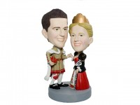 King and Queen Theme Bobbleheads