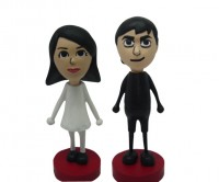 Mii Cake Toppers. Your Nintendo Wii Mii on your wedding cake