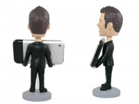 Personalized iPhone Holder Bobblehead for Men