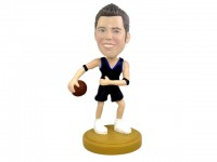 Crossover Carl The Basketball Bobblehead