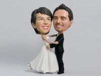 First Dance Wedding Bobblehead Couple